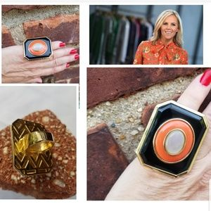 Tory Burch iconic ring 6.5